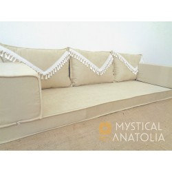 Floor sofa with triple back rest - MA79