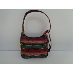 Turkish kilim patterned bag